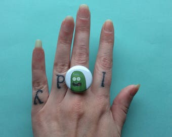 Pickle Rick Ring