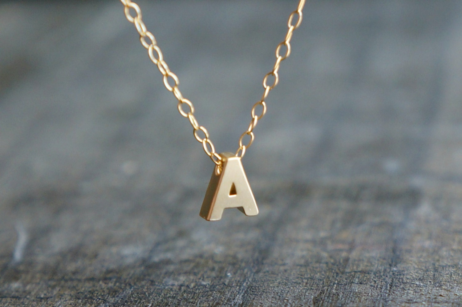 necklace pin initial letter a gold script chains diamond