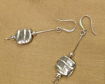 Silver Simplicity Earrings