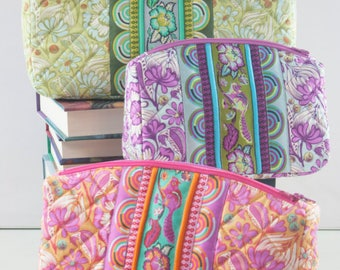 Filgree Double-Zip Pouches Pattern by Sew Sweetness - Paper Printed Pattern