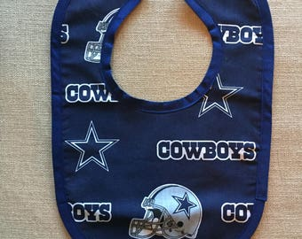 Dallas Cowboys Baby Bib
