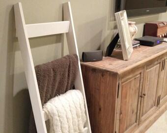Blanket Ladder, Blanket Ladder Rack, Ladder, Wooden Ladder, Livingroom Furniture, Modern Home Decor, Dorm Room Blanket Ladder, Dorm Decor