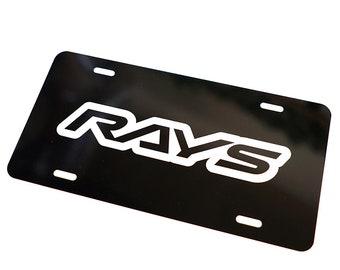 Laser Engraved Blank License Plate