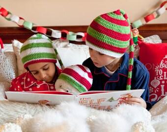 Christmas hat Toddler - Christmas Hat, Toddler Elf hat, Adult Christmas hat, Christmas hat baby, Christmas hat Adult, Elf Hat, Santa hat