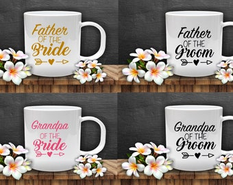 Mother of the Bride/Groom  & more  Decals  ( wine glass not included)