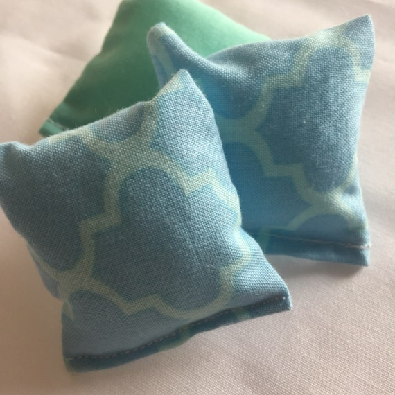Miniature Aqua Blue Pillows- Destashing Sale
