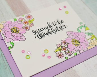 So Much to be Thankful for - Thank You Card