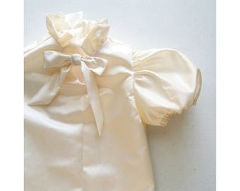 Dressy Toddler Blouse Handmade by Papoose Clothing