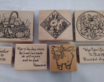 Easter Stamp Collection