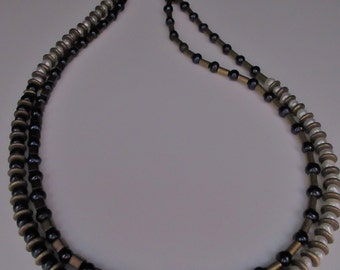 18SP167 - Freshwater Pearls and Brass Choker