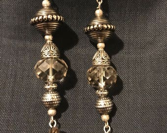 Silver mixed material dangle