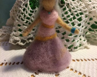 Needle Felted Crone Doll