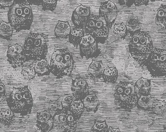 Owly Boo from the Wonderland collection by Katarina Roccella for Art Gallery fabrics