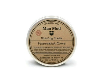 Men's Shaving Cream Man Mud