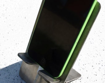 stainless steel iphone holder/ phone stand