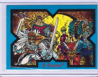 1991 X-Force Comic Images Card X-FORCE