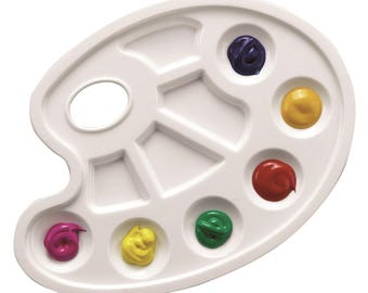 Ref 658300 - GIOTTO - oval paint palette - until the stock!