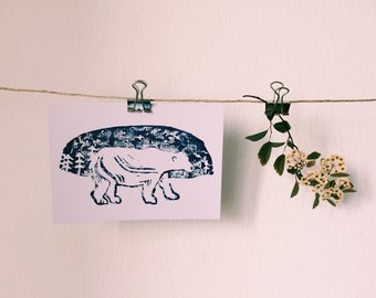 Polar Bear - Postcard
