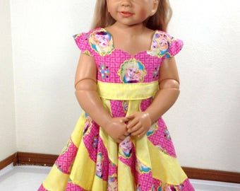 Frozen themed twirl Dress... Size 3