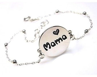 Bölbo® bracelet Mom chain silver balls