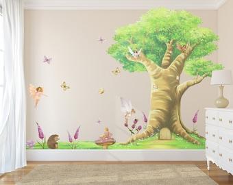 Fairy Decals, Fairies, Fairy Wall Stickers, Fairy Wall Decals, Fairy Decal,