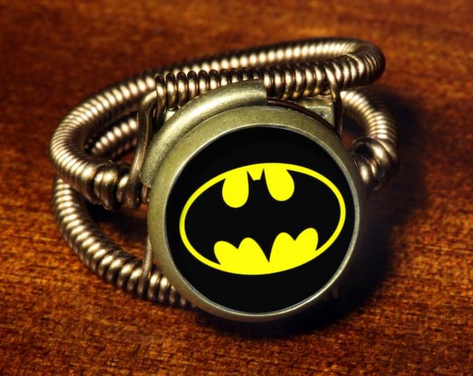 Steampunk Jewelry - Ring - Batman