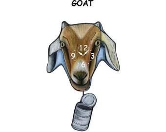goat clock