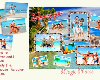 Photo Collage Summer Family Moments Editing Your Photos Photo Memory