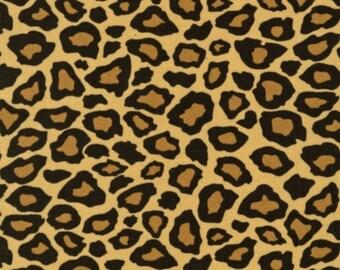 Brown Big Cat Leopard Print From Robert Kaufman