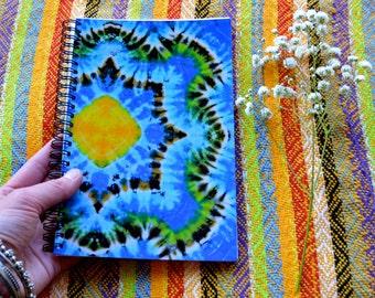 Tie Dye Journal - Bohemain Notebook
