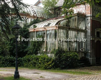 Urban Decay Print, Abandoned Greenhouse, Urbex Photography, Urban Decay Art, Abandoned Building Prints, Urban Decay Poster, Printable Photo