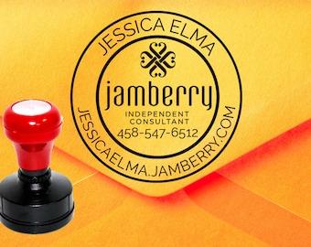Jamberry Stamp, Jamberry Catalog Stamp, Jamberry Consultant Stamp Z19