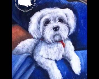 Made-to-Order Custom Pet Portrait
