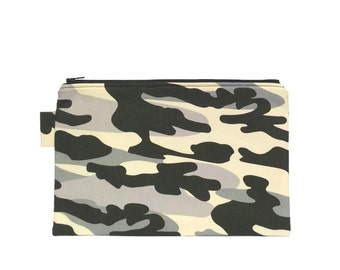 Pencil Case Camo, Stationery Pouch Camouflage, Planner Pen Pouch, Camo Pouch Bag, Boy Gift for Kids, Pencil Pouch Large, Stationery Storage