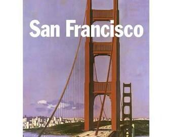 San francisco poster | Etsy
