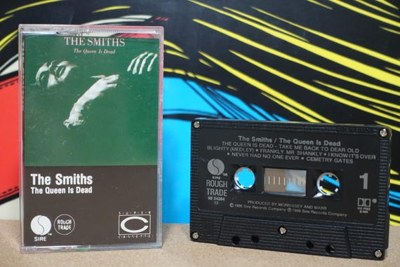 The Queen Is Dead (Rare Canadian Pressing) by The Smiths Vintage Cassette Tape