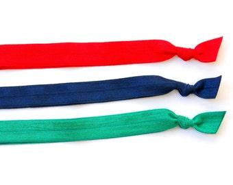 Bright - Set of 3 Comfort Elastic Headbands