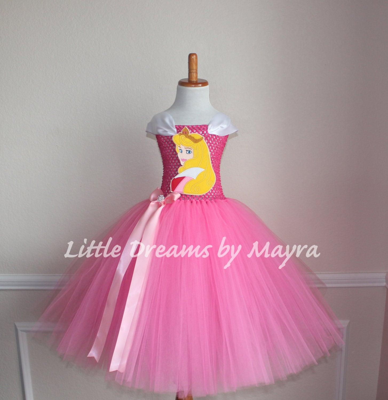 Vestido inspirado en Princesa Aurora Vestido inspirado en la