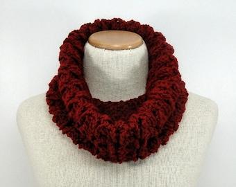 Crochet Pattern - Timeless Texture Infinity Scarf Crochet Pattern #405 - Crochet Infinity Scarf Pattern - Instant Download PDF