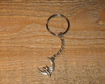 Keychain Moon rabbit - Hare / #055