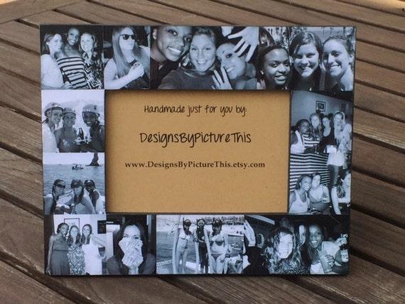 Best Friends Collage Picture Frame Unique Personalized