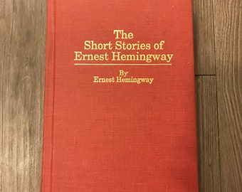 The Short Stories of Ernest Hemingway- Rare 1987 Amereon Edition Hardcover