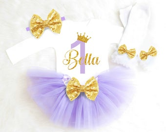 First Birthday Outfit Girl Purple Birthday Outfit Girl Princess Birthday Tutu Outfit Sofia the first Birthday Outfit 1st Birthday Outfit 19