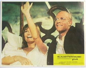 Lobby Card, Slaughterhouse Five, Kurt Vonnegut, Valerie Perrine, Trafalmadore, Movie Memorabilia, Michael Sacks, 1972