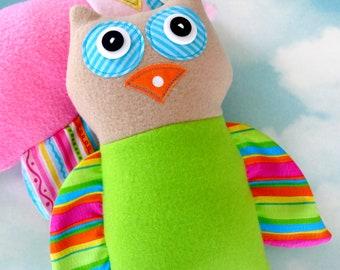 Owl Doll Sewing Pattern - PDF e-pattern