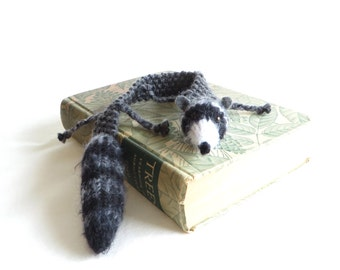 Roadkill Raccoon Bookmark - Vegan Roadkill - Raccoon - Made to Order