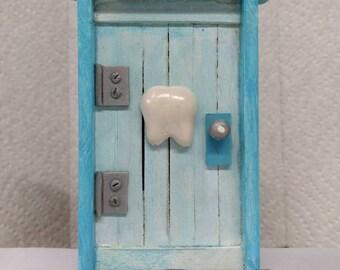 Tooth Fairy Door Blue