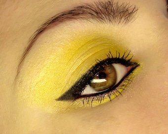 TART Yellow Mineral Pigment Eyeshadow Vegan Lemon