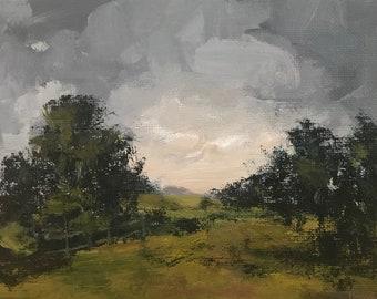 Overdue - 5x7 inches - ORIGINAL Landscape Painting
