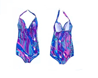 70's Psychedelic Swimsuit by Slix